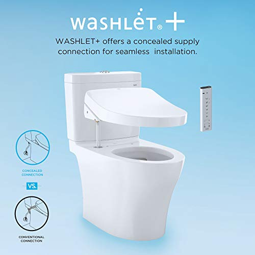 Toto Washlet + Aimes One-Piece Elongated Toilet