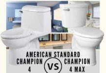 American Standard Champion 4 VS Champion 4 Max