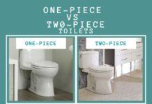 One Piece VS Two Piece Toilets